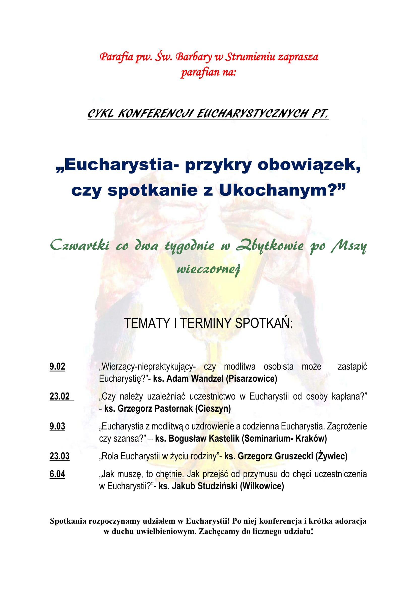 PLAKAT EUCHARYSTIA-1